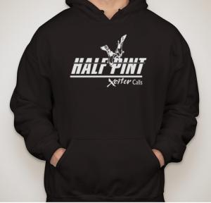 half pint hoodie blk